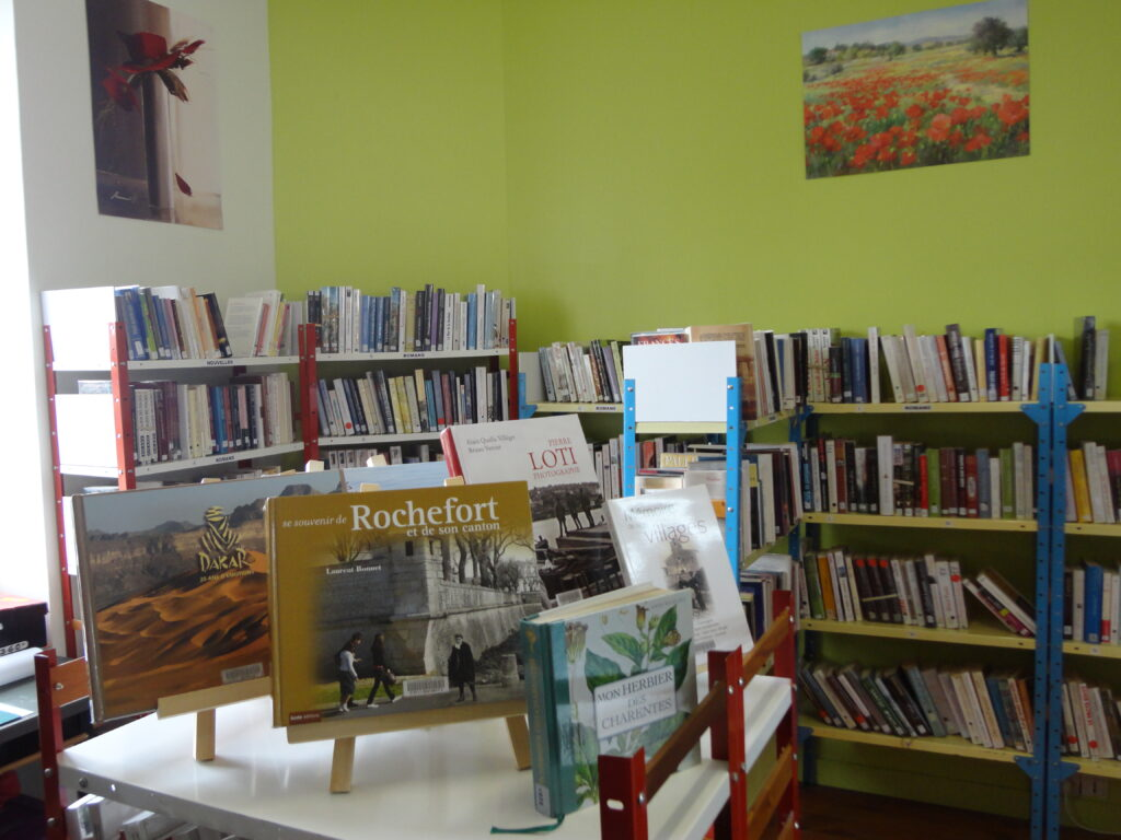 Bibliothèque - Muron