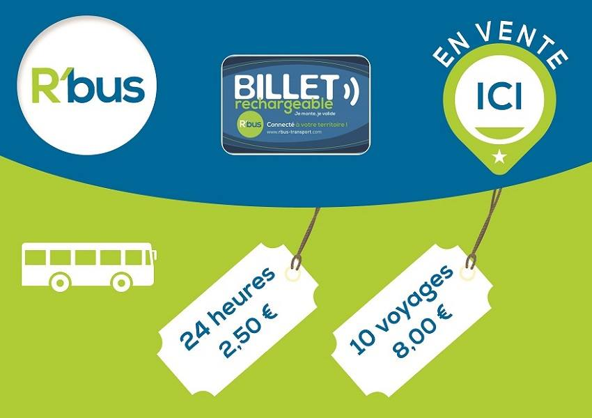 nouveau Point de Vente R'bus